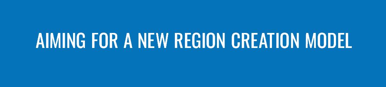 AIMING FOR A NEW REGION CREATION MODEL 新たな地域創生モデルを目指して